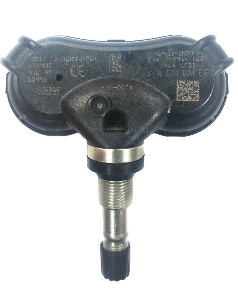 100 Original 52933 3M000 529333M000 Genuine font b TPMS b font For Kia Rio Hyundai IX35