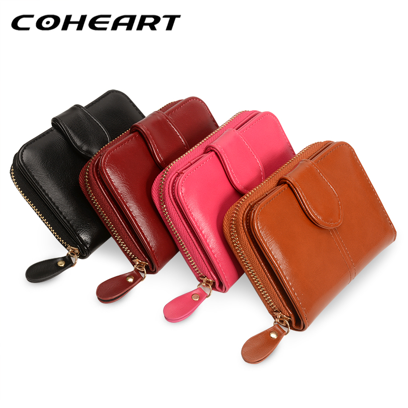 COHEART Wallet Women Fashion Purse Female Wallet leather pu multifunction purse small money bag coin pocket Wallet Top Quality ! 2