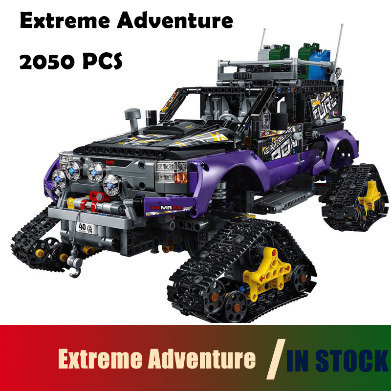 Compatible with lego Technic Model Building Blocks toys 20057 3372 2050Pcs Extreme Adventure Series 42069 DIY toys & hobbies