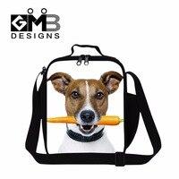 Almuerzo bolsa de frío para trabajar envase del almuerzo bolsas de comida de animales para niños con estilo para las mujeres, femenino bolsa lonchera, niños bolsa reutilizable