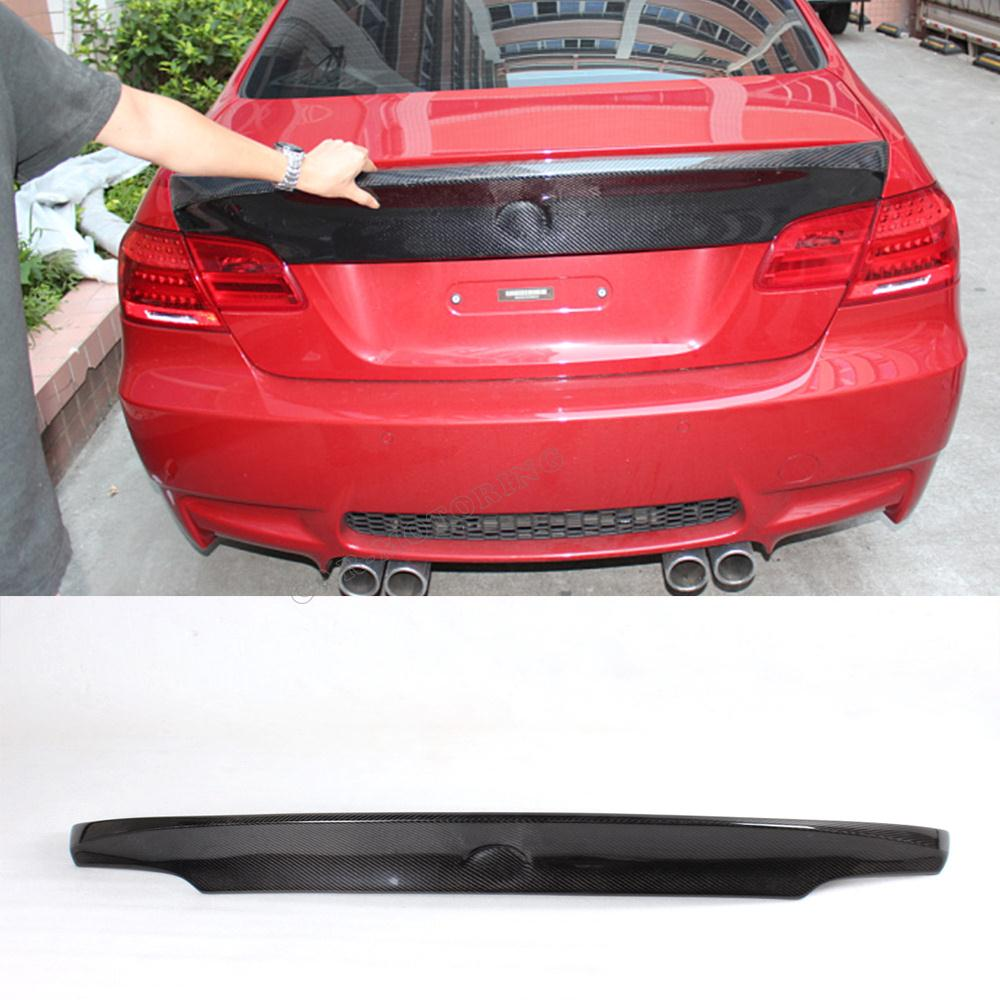 E92 coupe 328i 335i m3 csl style carbon fiber rear trunk for Wing motors automobiles miami fl