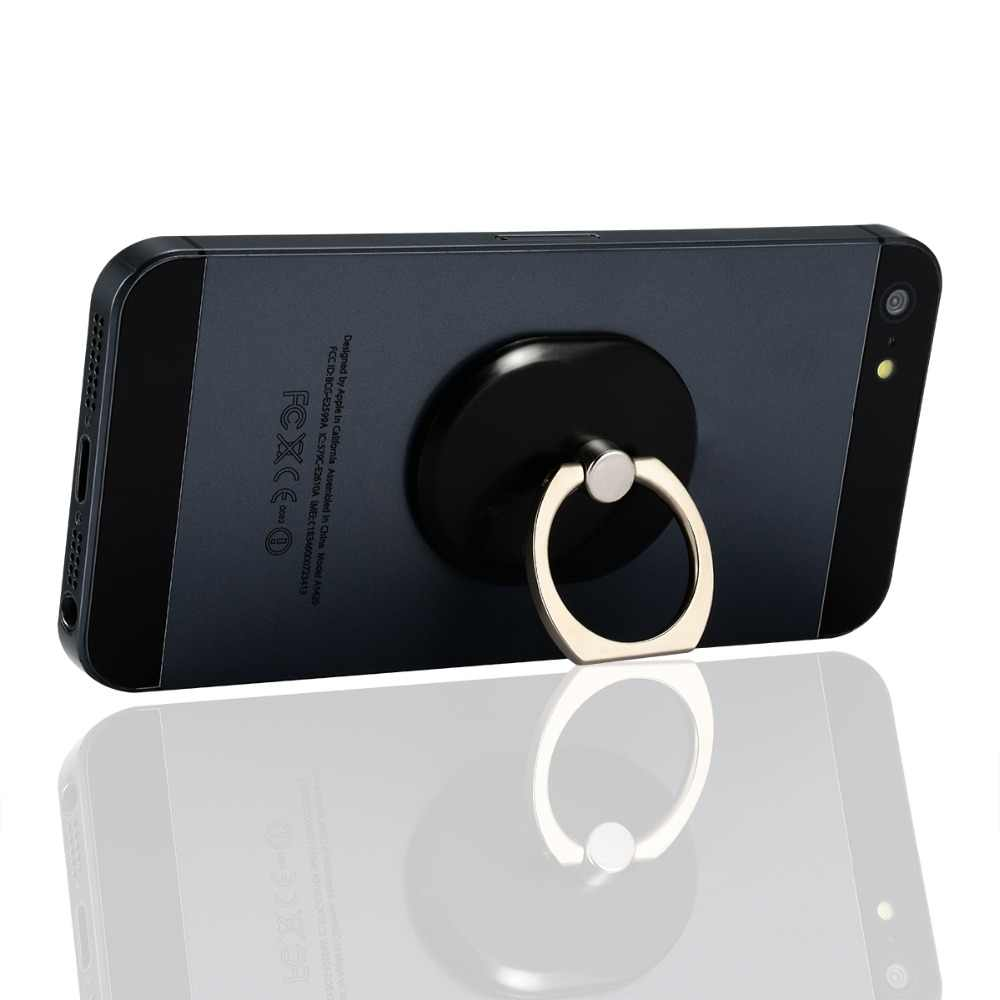 1 pièces en plastique métal réglable bagues support de smartphone support pour iPhone pour Xiaomi pour Samsung Mobile porte-téléphone se dresse