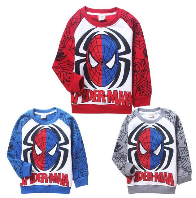 3-8Y new 2016 Boys T-shirt Baby Boy brand tshirts Kids Tees Children tees Long Sleeve 100%Cotton Cars Fireman Top Quality Free
