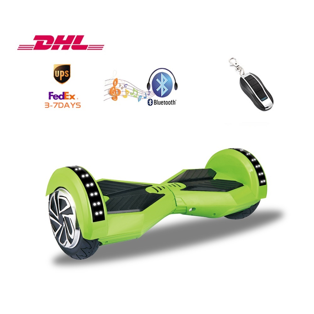 2 Wheels 8 Inch Bluetooth Electric Smart Self-Balancing Scooter hoverboard Led Light Remote Control with UL2272 3-8 delivery hot sale 4 5 inch electric self balancing scooter hoverboard smart wheels smart scooters balancing board for kid n5 1