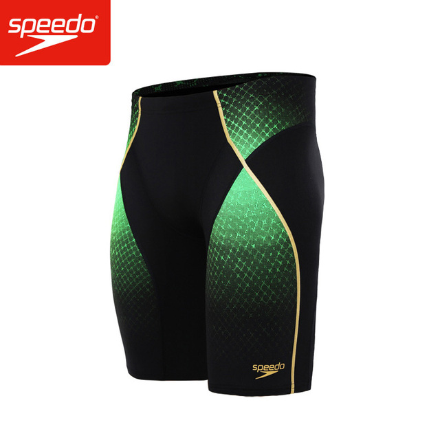 ab51f01b6bf41 Speedo Fit Pinnacle Jammers Men's Swim Trunks Endurance+ Swimwear Swimsuit  Polyester Solid Jammer