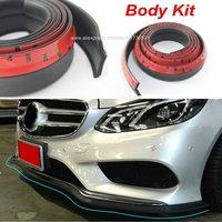 Car Front Lip Side Skirt Body Trim Bumper Lip For Mercedes Benz W220 W202 W210 W203 W204 W163 W639 W638 W168 Body Kit Strip