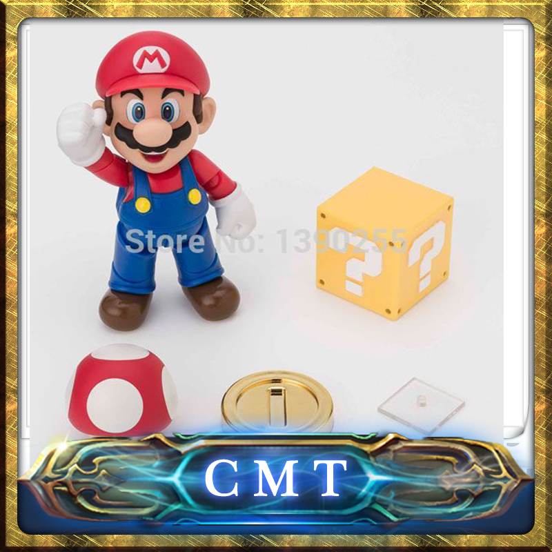 CMT CMT Datong Super Mario SHF Action Figure Toy SH Figuarts Mario Model With Accessories Set action figure пластиковая горка king kids
