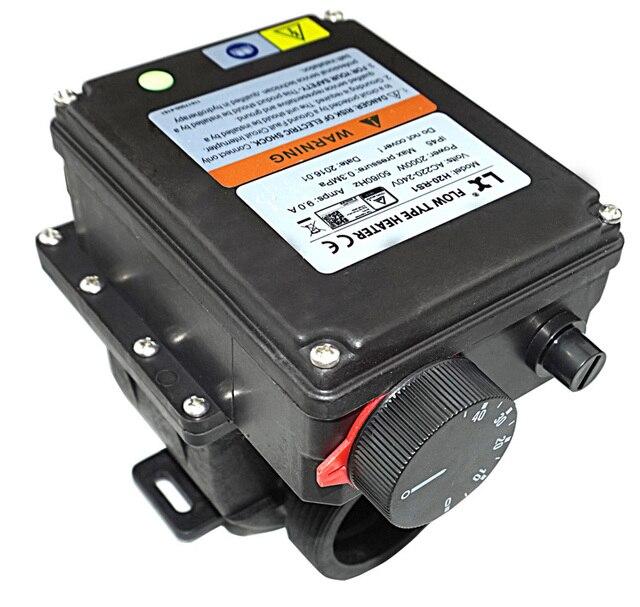 Lx H20 Rsi Chauffe Spa 2kw Avec Un Thermostat Reglable Pour