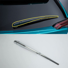 ABS Exterior Rear wiper cover Decoration Strip Cover Trim  Car Styling For TOYOTA CH-R 2018
