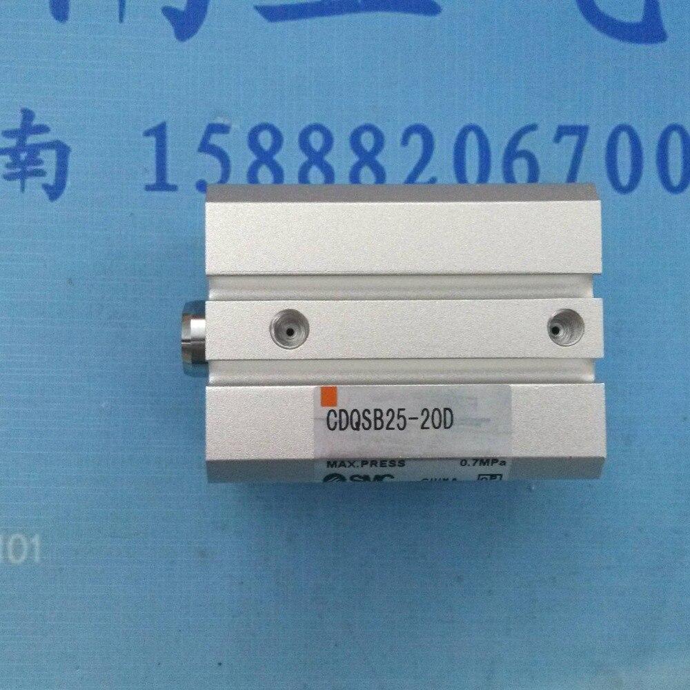 все цены на CDQSB25-20D SMC pneumatics pneumatic cylinder Pneumatic tools Compact cylinder Pneumatic components онлайн