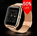 Smart Watch Sync Notifier Support Sim Card Bluetooth Connectivity Apple iPhone Android Phone Smartwatch Alloy Watch
