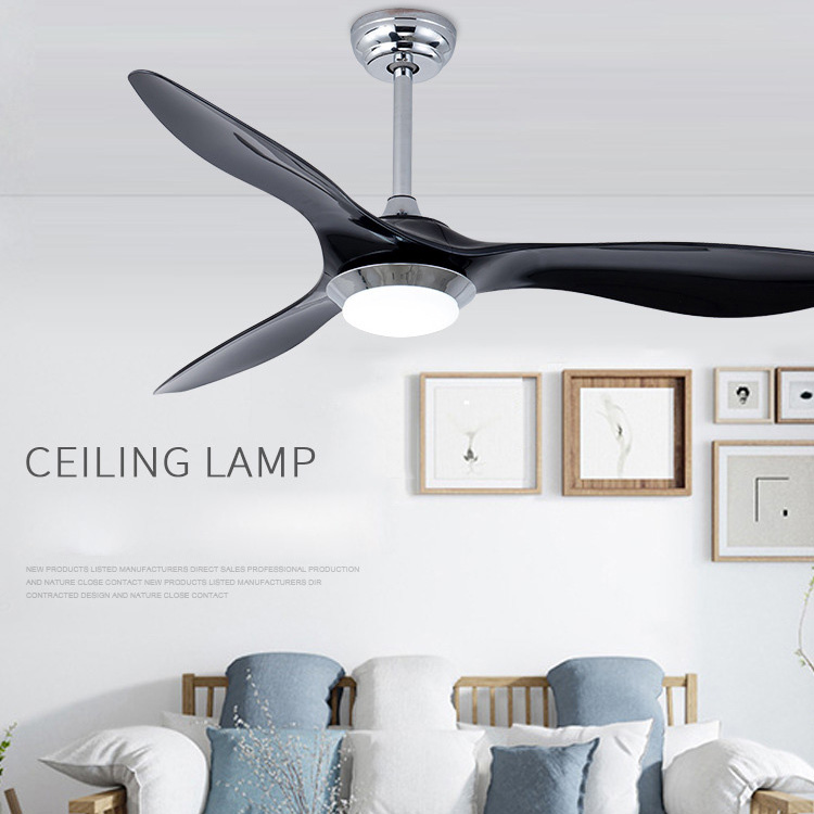 52 Inch Flush Mount Fan With Led Light Kits Creative