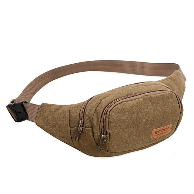 Limited Rushed Men Waist Packs Casual Bag Pocket Portable Messenger Fanny Pack Solid Molle Pouch Money Pockets Of Male Ba010