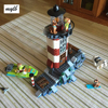 New Haunted Lighthouse Scooby Doo Model Bricks Blocks 3D Kids Toy Gifts Compatible With Legoe