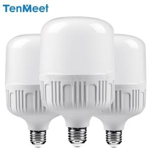 Image 1 - LED lamp E27 LED Bulb AC 220V 230V 240V 50W 40W 30W 20W 15W 10W 5W Lampada LED Spotlight Cold White Warm White lamp Lamps light