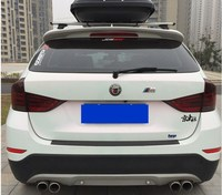 E84 X1 High Quality ABS Material Car Rear Wing Primer Color Rear Roof Lip Spoiler Wing For BMW E84 X1 spoilers 2009 2015