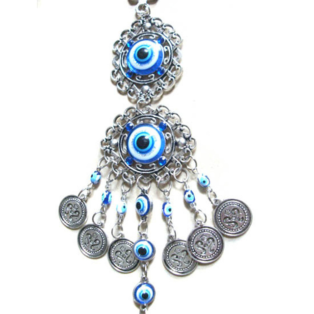 Turkish evil blue eye glass pendant key chain nazar bag charm car turkish evil blue eye glass pendant key chain nazar bag charm car protection key ring mozeypictures Image collections