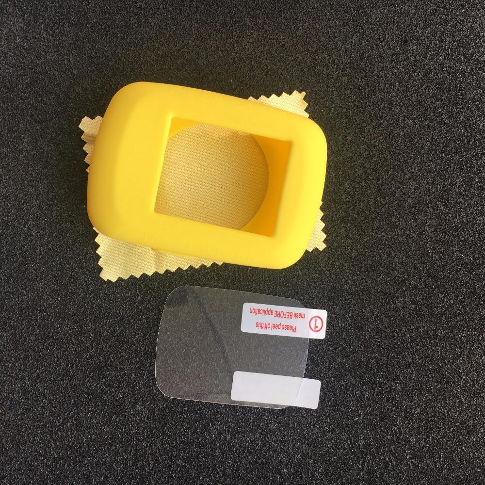 (Garmin edge 200/500) Outdoor Cycling computer Silicone Rubber Protect Case + LCD Screen Film Protector For garmin edge 500
