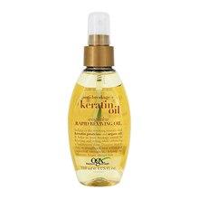 Масло OGX для волос Легкое кератиновое -спрей против ломкости  мгновенное восстановление 118 мл