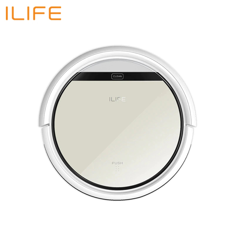 Robot Vacuum Cleaner ILIFE V50 Wireless Vacuum Cleaner Dry Cleaning For Home Automatic Suction 500 Pa Battery 2600 mAh european type power adapter for liectroux robot vacuum cleaner d6601 a325 a320 a335 a336 a337 a338