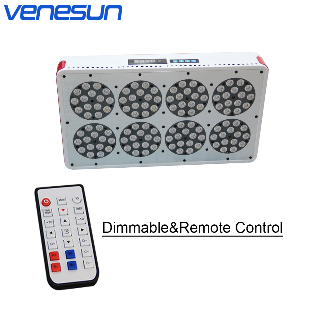 LED Grow Light Venesun Apollo 8 Dimmable Remote Control Full Spectrum Grow Lamps For Indoor Planting Hydroponic Greenhouse