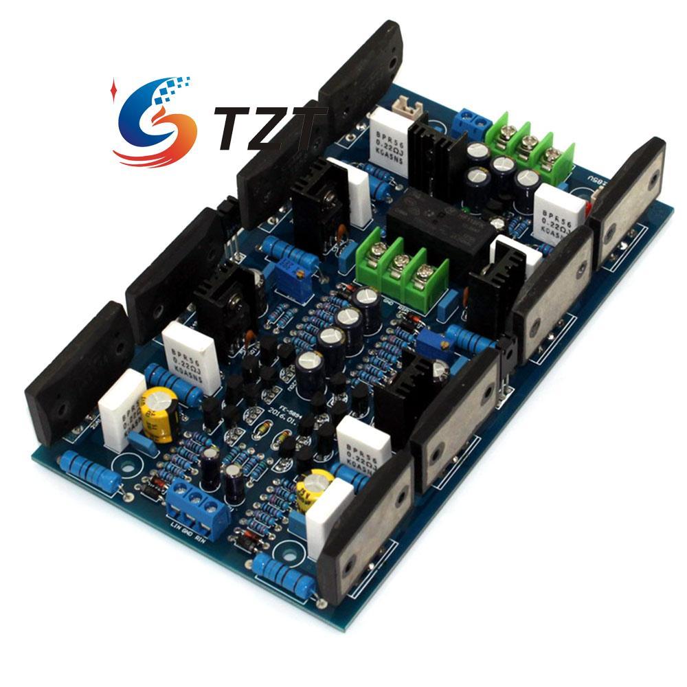 Power Amplifier Board 2SA1494 2SC3858 Dual Channel Amp 300W 300W for DIY