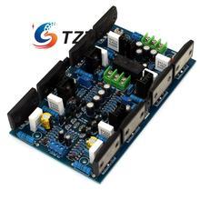 Мощность Усилитель доска 2SA1494 2SC3858 двухканальной AMP 300 Вт + 300 Вт для DIY
