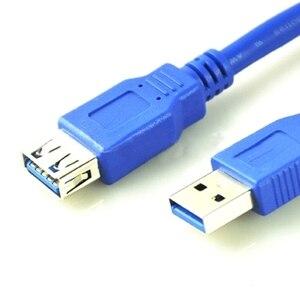 Image 5 - 1 m Tốc Độ Cao USB3.0 Mở Rộng dây 100 cm Nam Nữ Đổi Chiều Dài, USB3.0 Cáp Nam thành Nữ USB V3.0 USB3 Dây Cáp Dây