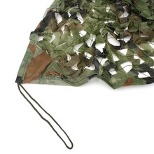 5M x 1.5M Outdoor Sun Shelter Net CAMOUFLAGE Netting Hunting Woodland Jungle Tarp Car-covers Tent  Jungle Shelter