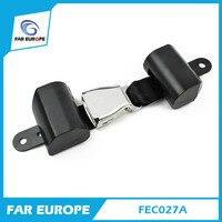 OE Quality ALR 2 Point 47mm Width Polyester Car Seat Belt Black Color Seat Safety Belt