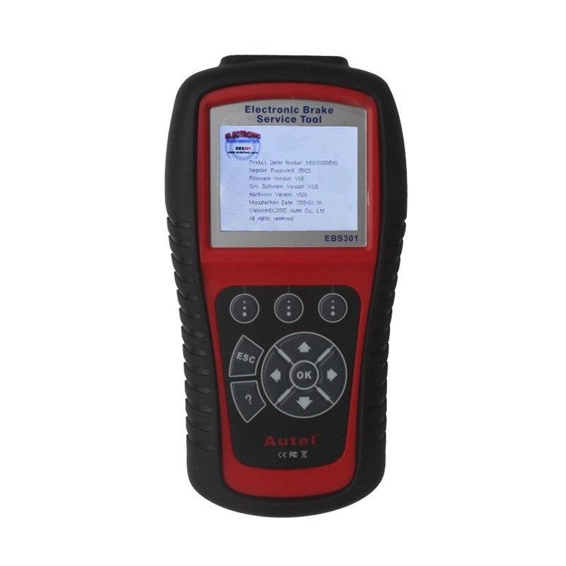 Цена за DHL бесплатная доставка Autel MaxiService EBS301 Electronic Brake Service Tool OBDII/EOBD Тормоза Установка Обновления Сканера Через Интернет