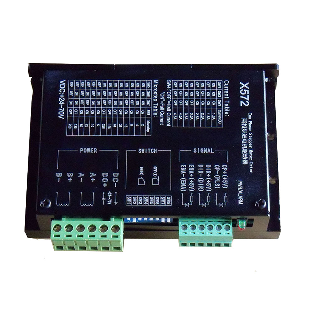 X572 Driver, Current 1A 4.5A Voltage 70VDC Strong Anti interference (video)