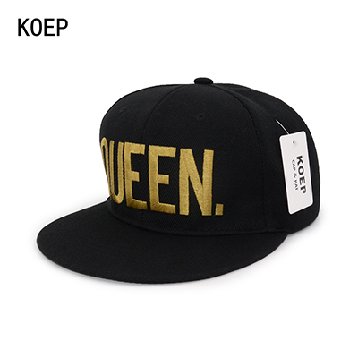 QUEEN Black snapback hat 5c64fe6f2ac64