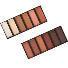 New Profession Eyeshadow Palette 12 Colors Matte Makeup Nude Warm Cosmetics Free Shipping