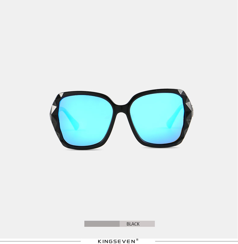 KINGSEVEN Sunglasses Women Gradient Polarized Diamond Frame Sun Glasses For Driving Luxury Lady Shades Eyewear Accessories 7538 11
