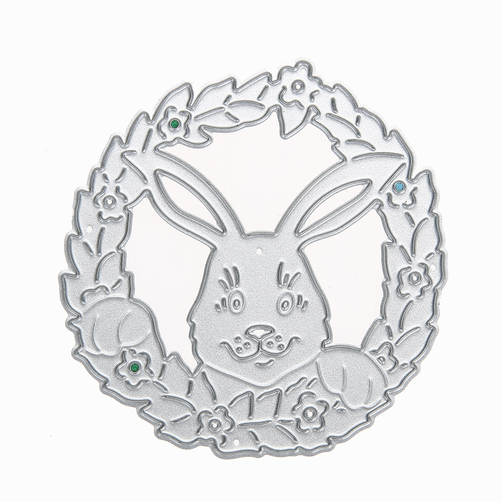 Funny Rabbit Metal Cutting Dies for Scrapbooking Embossing DIY Album Cards Cute Decoration Manual Toy Metal Dies Cutter