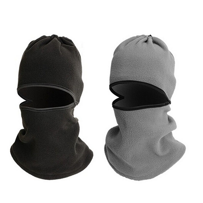 Men's Unique Warm Full Face Cover Winter Mask Beanie Hat Scarf CS Hiking New