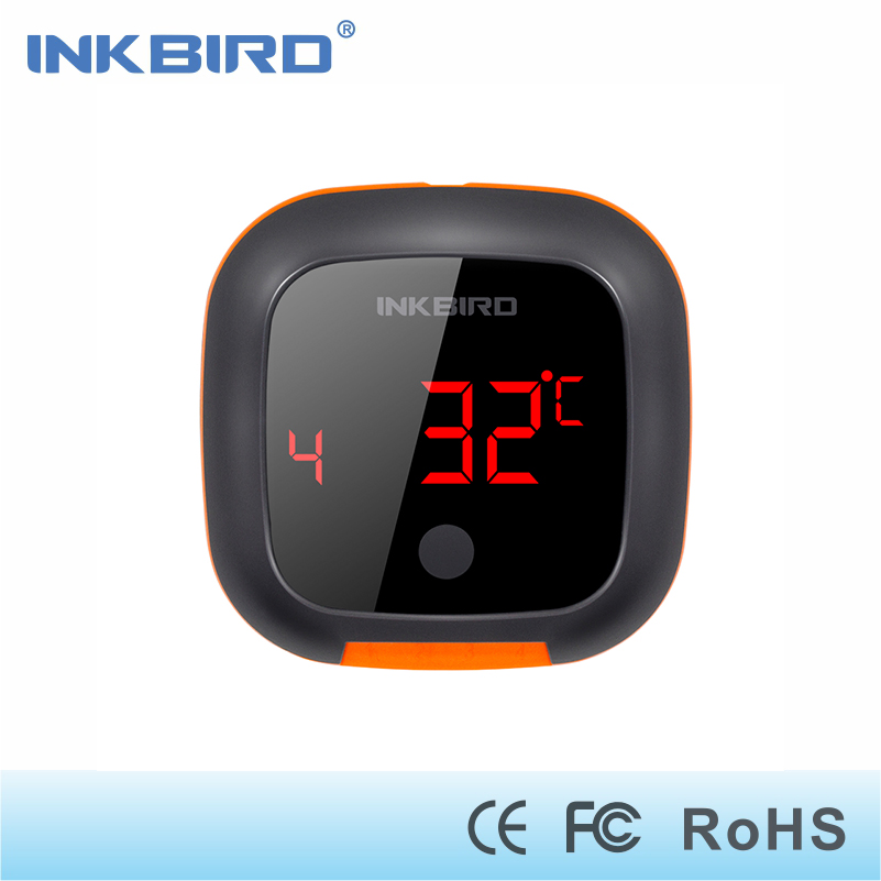 Inkbird IBT-4XS Digital Wireless Bluetooth Cooking Oven BBQ Grilling Thermometer With Two/Four Probe and USB rechargable battery