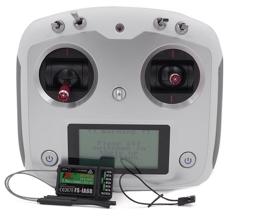 Здесь продается  Flysky FS I6S 2.4G 10CH Controller Transmitter &iA6/iA6B Receiver w/LCD Touch S  Бытовая электроника
