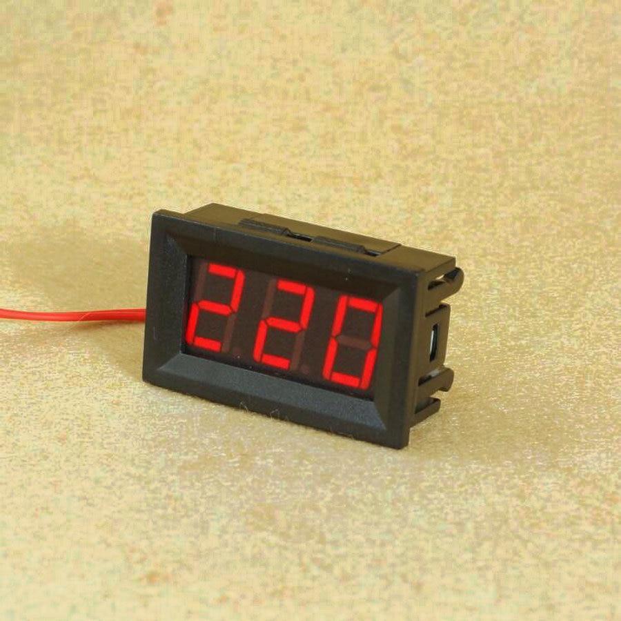 все цены на 1pcs/lot Digital Voltmeter 70V to 500V 0.56 inch LED Digital Panel Meter Voltage tester RED/GREEN/BLUE monitor онлайн