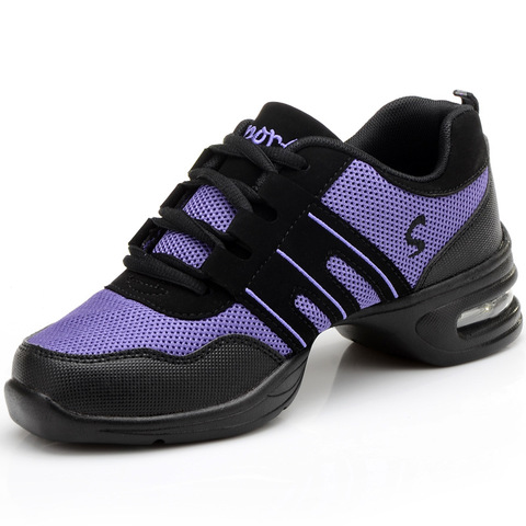 Fitness Sports Shoes Feature Soft Outsole Breath Dance Shoes Sneakers For Woman Practice Shoes Thin Modern Dance Jazz Shoes Islamabad