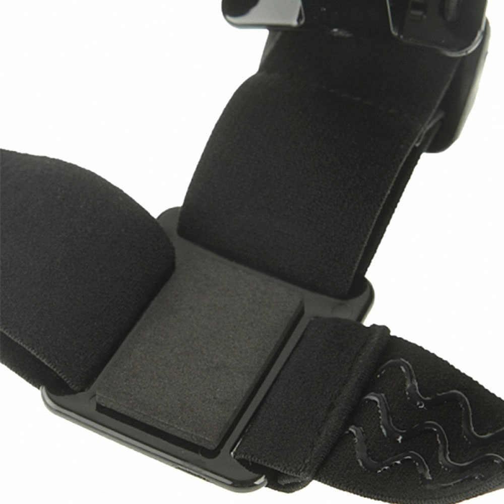Amkov для спортивной экшн-камеры Go pro Аксессуары повязка на голову ремень крепление монопод для Gopro Hero 3 3 + 4 5 SJ4000 SJ5000 Спортивная водоотталкивающая Камера Gopro Helmet