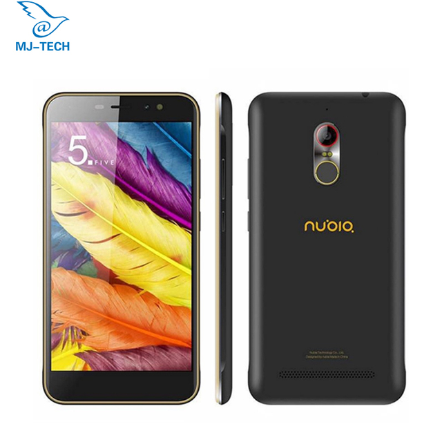 Original Nubia N1 Lite NX597J 5.5inch MTK6737 Quad core 2G RAM 16G ROM FDD 4G Fingerprint Android 6.0 smart mobile phone