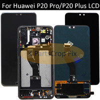 Original 6.1LCD Huawei P20 Pro LCD with frame Display Screen Touch Digitizer Assembly P20 Pro CLT AL01 CLT L29 Lcd P20 Plus lcd