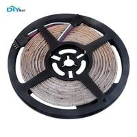 DIYmall EL Products WS2811 60 LED Strip Light 5050 RGB IP67 Waterproof 5M 300 LEDs White