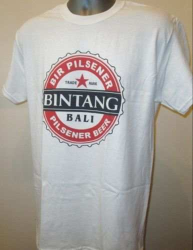 US $12 8 48% OFF Bali Bintang Beer T Shirt Lombok Asia W318 Nusa Kuta Beach  Surfing Backpacking-in T-Shirts from Men's Clothing on Aliexpress com  