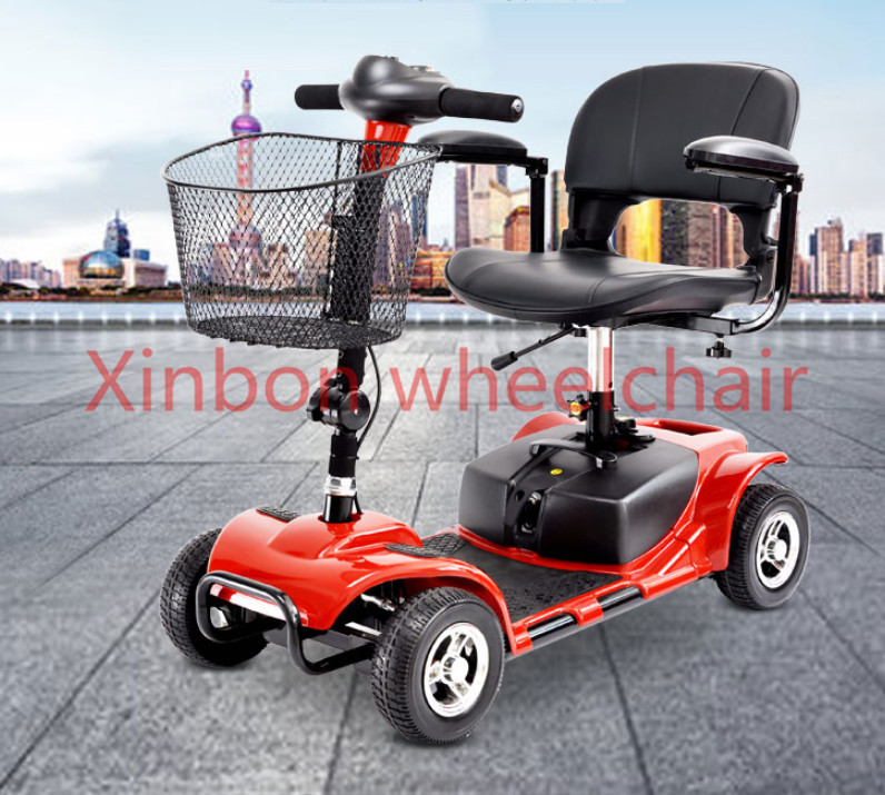 High quality folding electric wheelchair for elderly and disabled cheap price folding lightweight manual wheelchair for handicapped and elderly