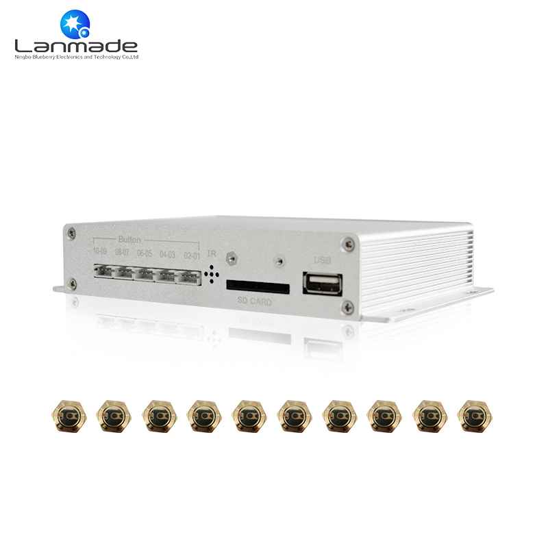 High definition output auto loop play youtube video player vlc video player  no led button media player digital signage display-in HDD Player from