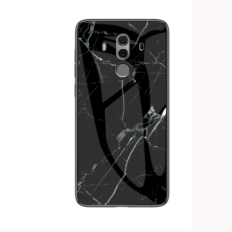 Image 5 - Luxury Marble Tempered Glass Phone Case For Huawei Honor Mate 20 Pro 8 9 10 Lite 10i Play 8X MAX 8C Case For Mate20 X Back Cover-in Fitted Cases from Cellphones & Telecommunications