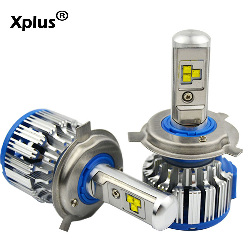 Xplus LED Car Headlight 12-24V H7 H4 high low beam H11 HB3/9005 HB4/9006 H1 H3 9012 80W Auto Bulb Headlamp 6000K Light 8000lm newest h4 led car headlight h1 h8 hig led light 9005 9006car led headlight bulb auto headlamp lamp high low beam white lighting